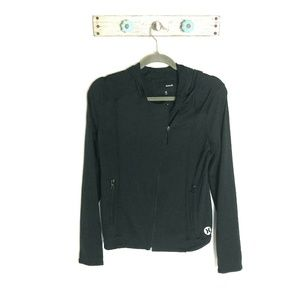 Hurley Juniors M Dri-Fit Black Athletic Jacket